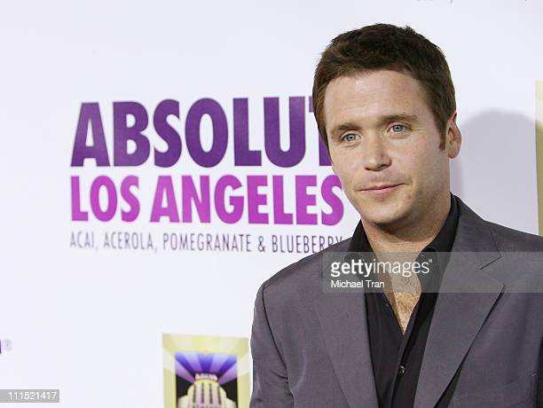 Actor Kevin Connolly arrives at the ABSOLUT Los Angeles Launch Party on July 23 2008 at The Kress in Hollywood California