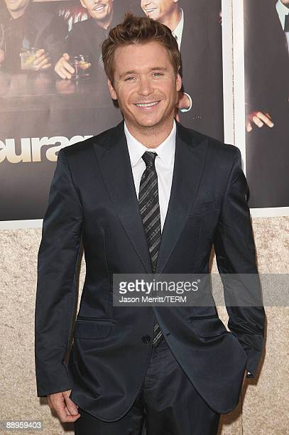 Actor Kevin Connolly arrives at the premiere of HBO's Entourage Season 6 on July 9 2009 in Los Angeles California