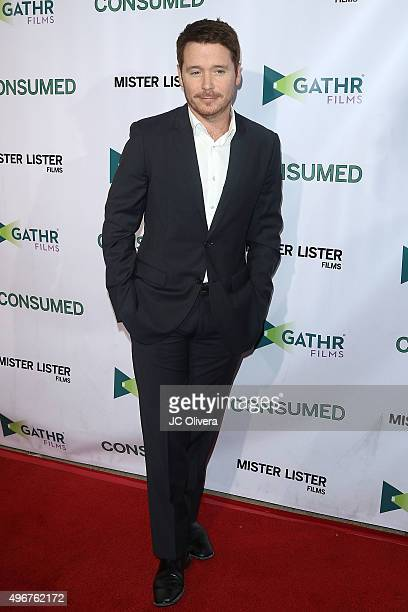 Actor Kevin Connolly attends at the premiere of Mister Lister Film's 'Consumed' at Laemmle Music Hall on November 11, 2015 in Beverly Hills,...