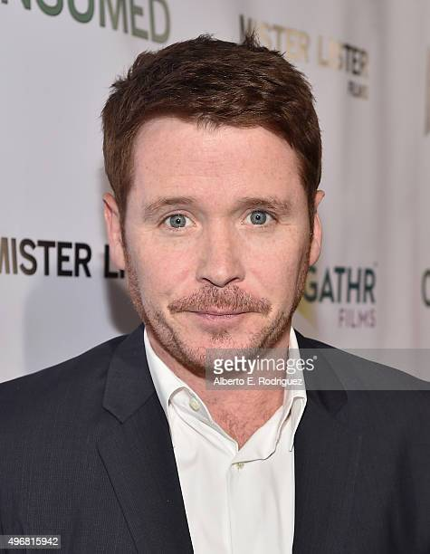 Actor Kevin Connolly attends the Los Angeles premiere of Mister Lister Films' Consumed at Laemmle Music Hall on November 11 2015 in Beverly Hills...