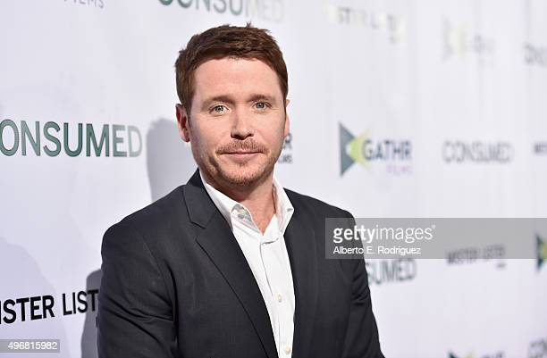"""Actor Kevin Connolly attends the Los Angeles premiere of Mister Lister Films' """"Consumed"""" at Laemmle Music Hall on November 11, 2015 in Beverly Hills,..."""