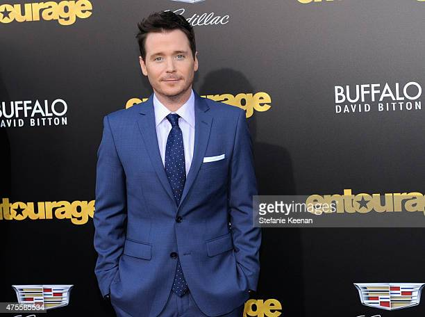 Actor Kevin Connolly attends the premiere of ENTOURAGE sponsored by Buffalo David Bitton at the Regency Village Theatre on June 1 2015 in Westwood...