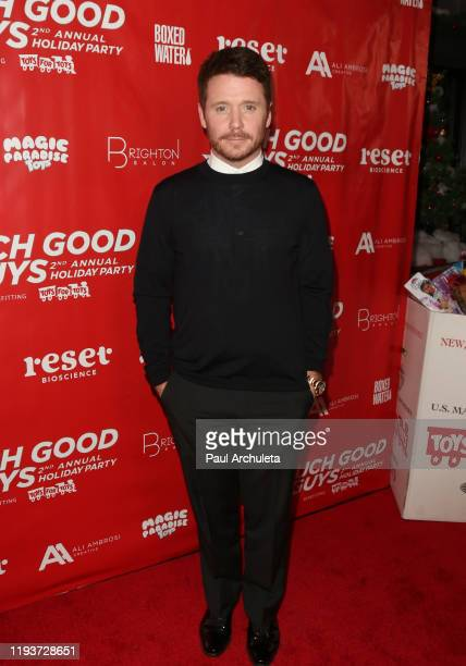Actor Kevin Connolly attends the Such Good Guys Production Holiday event and Toy Drive Benefiting Toys For Tots at The Den On Sunset on December 12...