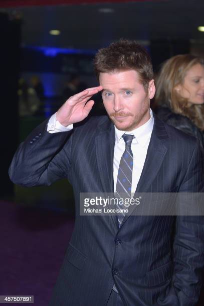 Actor Kevin Connolly attends the The Wolf Of Wall Street premiere after party at Roseland Ballroom on December 17 2013 in New York City
