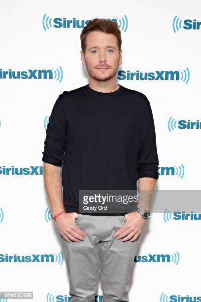 Actor Kevin Connolly visits the SiriusXM Studios on June 14, 2018 in New York City.