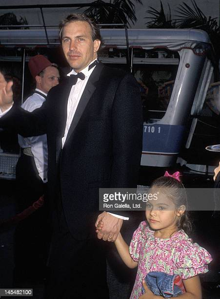 Actor Kevin Costner and daughter Annie Costner attend Warner Bros Hosts a Celebration of Tradiition Gala to Celebrate the Rededication of the Warner...