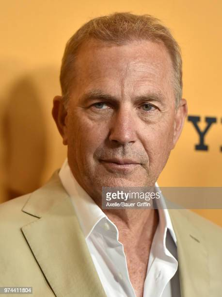 Actor Kevin Costner arrives at the premiere of Paramount Pictures' 'Yellowstone' at Paramount Studios on June 11 2018 in Hollywood California