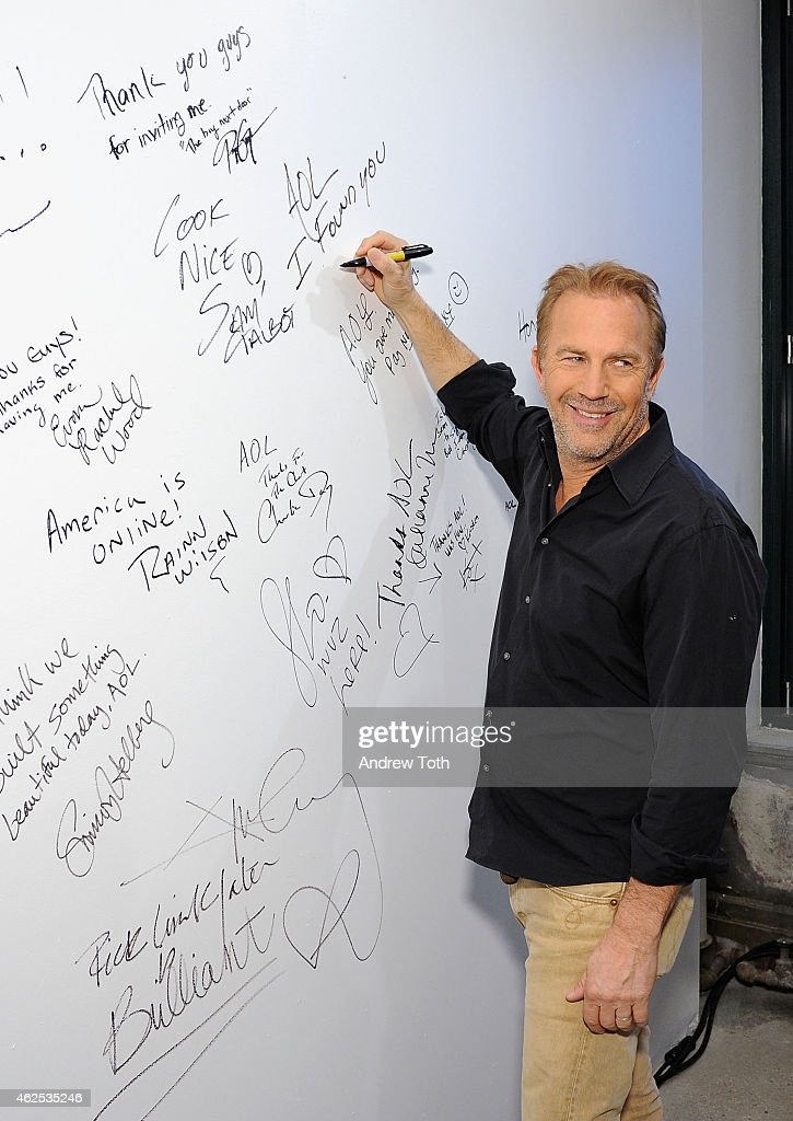 AOL Build Speaker Series Presents Kevin Costner : Nachrichtenfoto