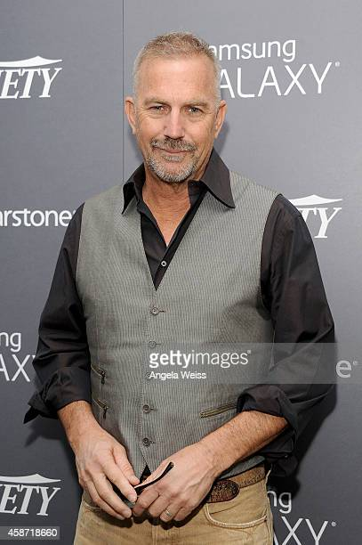 Actor Kevin Costner attends day two of Variety Studio: Actors On Actors presented by Samsung Galaxy on November 9, 2014 in Los Angeles, California.
