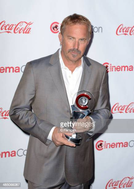 Actor Kevin Costner attends the Big Screen Achievement Awards during CinemaCon 2014 on March 27 2014 in Las Vegas Nevada