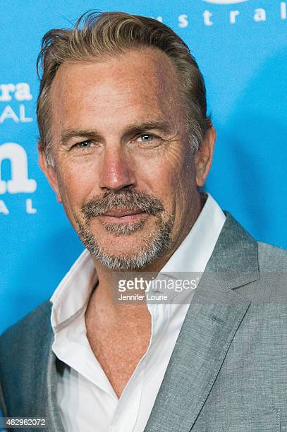 Actor Kevin Costner attends the Closing Night of the 30th Santa Barbara International Film Festival featuring McFarland USA at the Arlington Theatre...