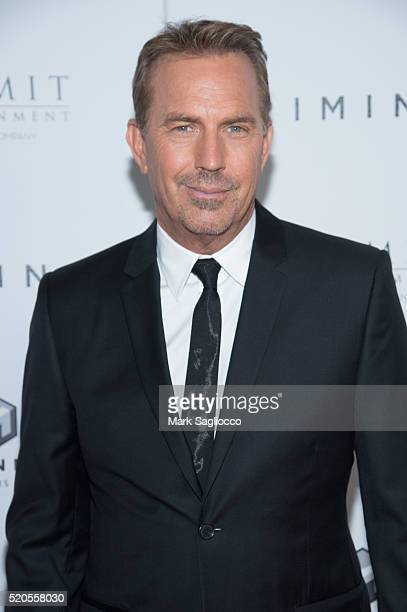 "Actor Kevin Costner attends the ""Criminal"" New York Premiere at AMC Loews Lincoln Square 13 theater on April 11, 2016 in New York City."