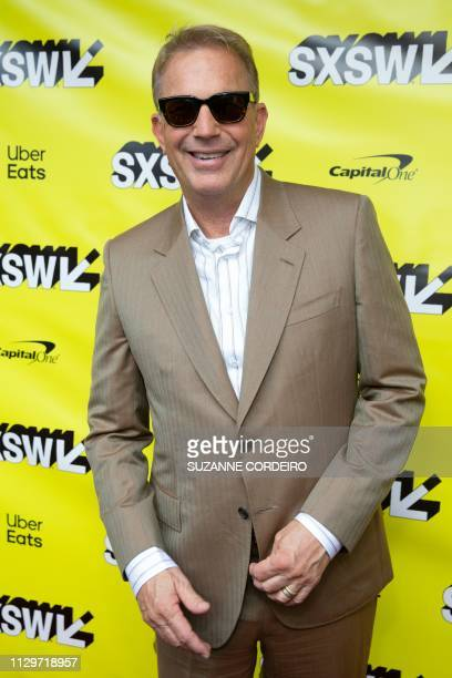 "Actor Kevin Costner attends ""The Highwaymen"" premiere during the 2019 SXSW conference and Festivals at the Paramount Theatre on March 10, 2019 in..."