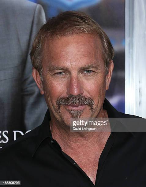 Actor Kevin Costner attends the premiere of Summit Entertainment's 'Draft Day' at the Regency Village Theatre on April 7 2014 in Los Angeles...