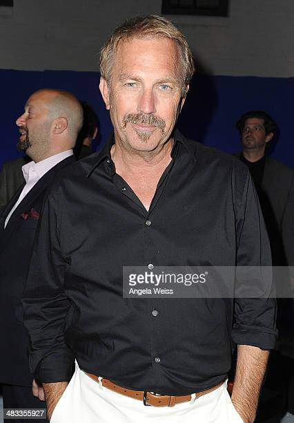 Actor Kevin Costner attends the premiere of Summit Entertainment's 'Draft Day' after party presented by Bud Light on April 7 2014 in Los Angeles...