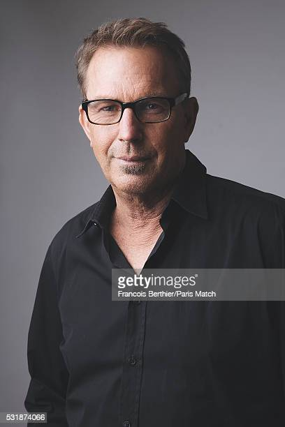 Actor Kevin Costner is photographed for Paris Match on April 6 2016 in Paris France