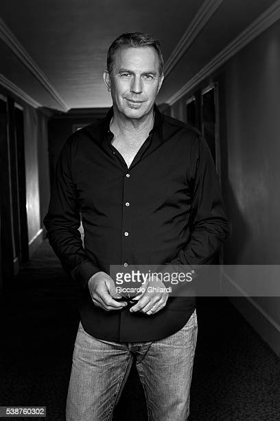 Actor Kevin Costner is photographed for Self Assignment on April 8 2016 in Rome Italy