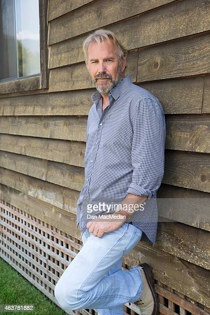 Actor Kevin Costner is photographed for USA Today on August 7 2014 in Santa Barbara California