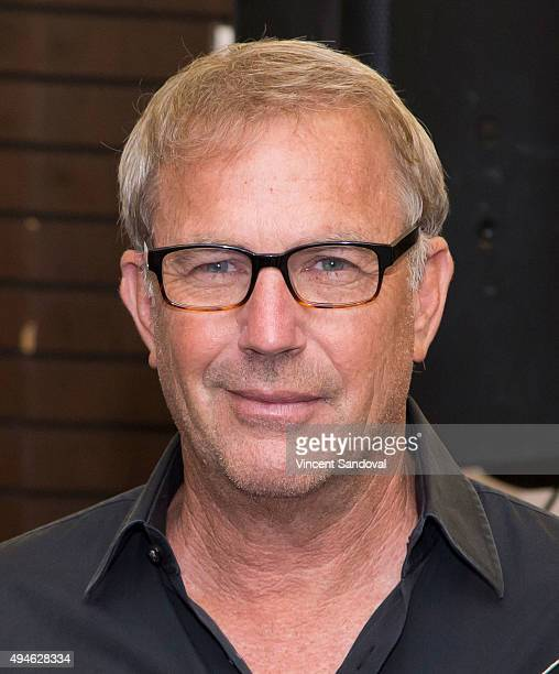 Actor Kevin Costner signs his new book 'The Explorers Guild Volume One A Passage To Shambhala' at Barnes Noble at The Grove on October 27 2015 in Los...