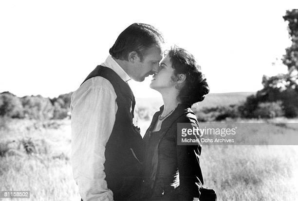Actor Kevin Costner stars in the film 'Wyatt Earp'