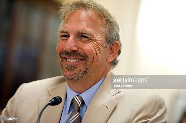 Actor Kevin Costner testified before a House Committee on Homeland Security on the Department of Homeland SecurityÕs leadership in disaster planning...