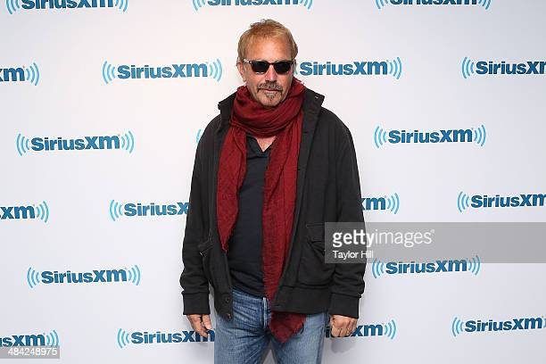 Actor Kevin Costner visits the SiriusXM Studios on April 11, 2014 in New York City.