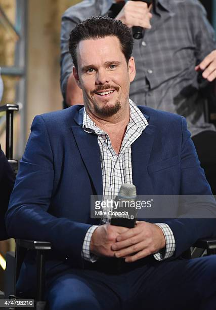 Actor Kevin Dillon attends the AOL BUILD Speaker Series The Cast Of Film Entourage at AOL Studios In New York on May 26 2015 in New York City