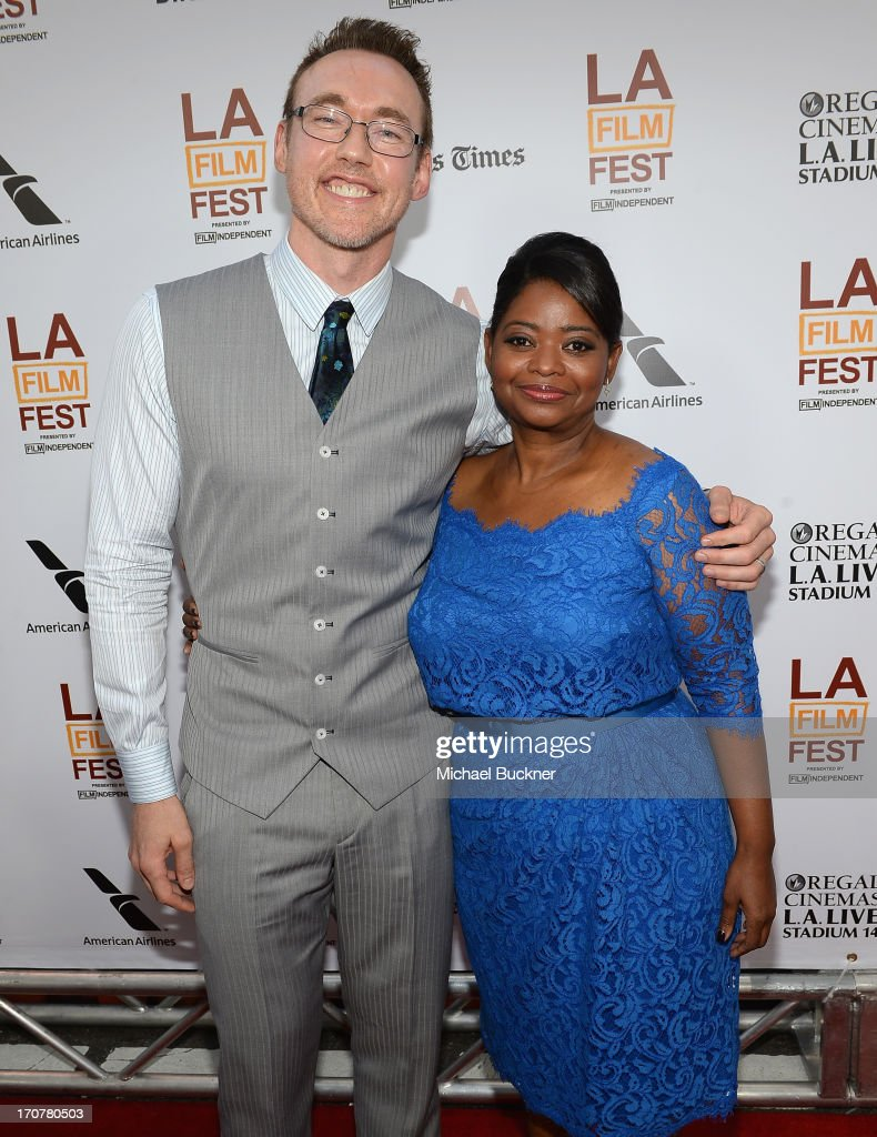 Actor Kevin Durand (L) and actress Octavia Spencer arrive at the premiere of The Weinstein Company's 'Fruitvale Station' at Regal Cinemas L.A. Live on June 17, 2013 in Los Angeles, California.