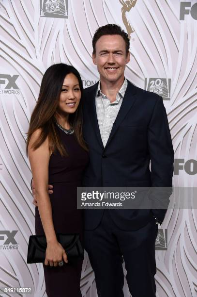 Actor Kevin Durand and Sandra Cho arrive at the FOX Broadcasting Company Twentieth Century Fox Television FX and National Geographic 69th Primetime...
