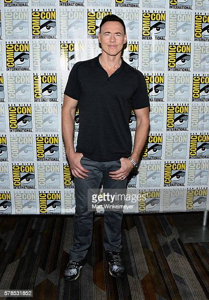 Actor Kevin Durand attendns FX's 'The Strain' press line during ComicCon International 2016 at Hilton Bayfront on July 21 2016 in San Diego...