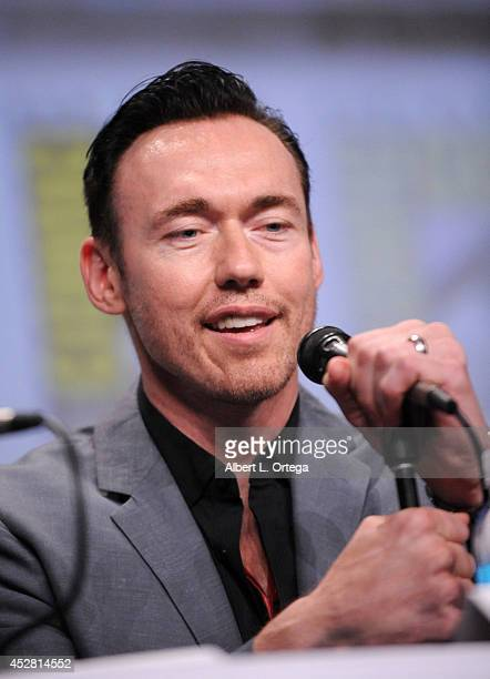 Actor Kevin Durand attends FX's 'The Strain' panel during ComicCon International 2014 at San Diego Convention Center on July 27 2014 in San Diego...