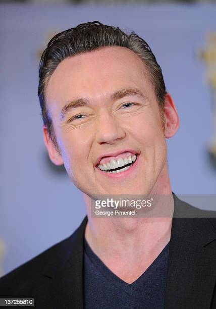 Actor Kevin Durand attends the 32nd Genie Awards Press Conference at Rosewater Supper Club on January 17 2012 in Toronto Canada