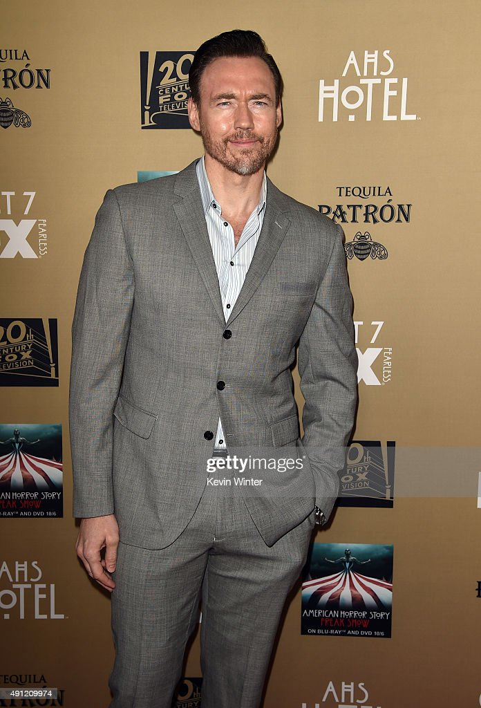 Actor Kevin Durand attends the premiere screening of FX's 'American Horror Story: Hotel' at Regal Cinemas L.A. Live on October 3, 2015 in Los Angeles, California.