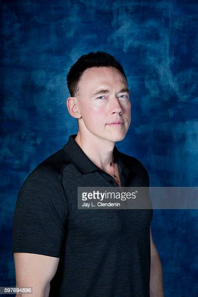 Actor Kevin Durand of FX's 'The Strain' is photographed for Los Angeles Times at San Diego Comic Con on July 22 2016 in San Diego California