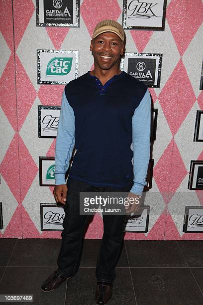 Actor Kevin Eubanks attends the GBK Gift Lounge in Honor of the 2010 Emmy Nominees and Presenters at SLS Hotel on August 27 2010 in Beverly Hills...