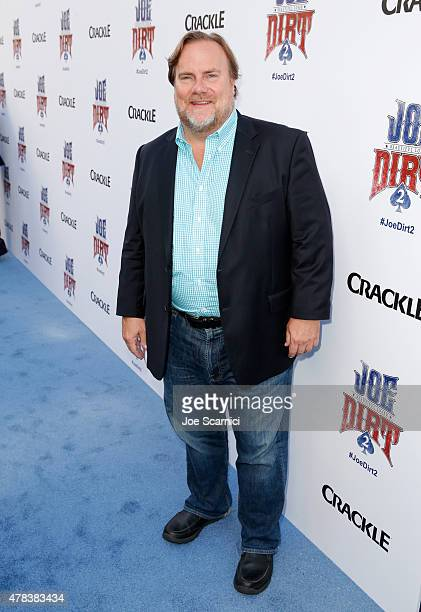 Actor Kevin Farley attends the world premiere of Crackle's Joe Dirt 2 Beautiful Loser at Sony Pictures Studios on Wednesday June 24 2015 in Culver...
