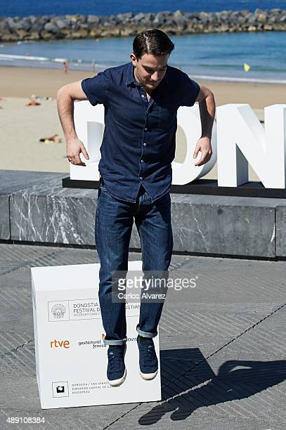 "Actor Kevin Guthrie attends ""Sunset Song"" photocall a the Kursaal Palace during the 63rd San Sebastian International Film Festival on September 19,..."