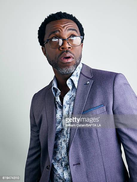 Actor Kevin Hanchard poses for a portrait BBC America BAFTA Los Angeles TV Tea Party 2016 at the The London Hotel on September 17, 2016 in West...