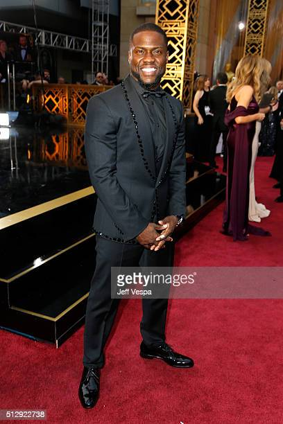 Actor Kevin Hart attends the 88th Annual Academy Awards at Hollywood Highland Center on February 28 2016 in Hollywood California