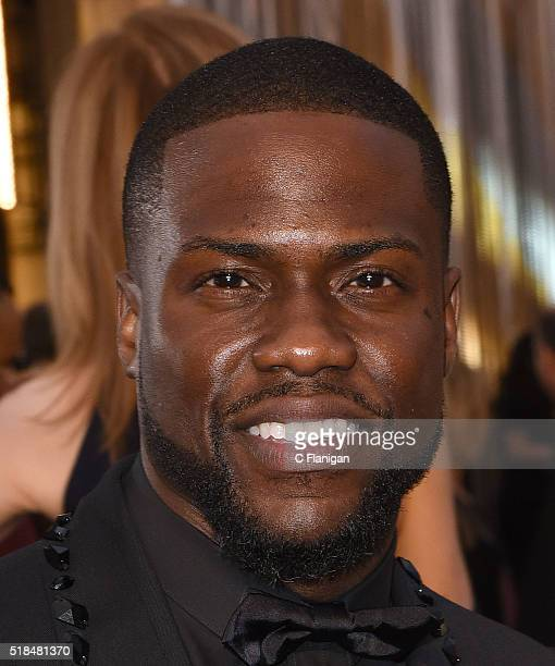 Actor Kevin Hart attends the 88th Annual Academy Awards at the Hollywood Highland Center on February 28 2016 in Hollywood California