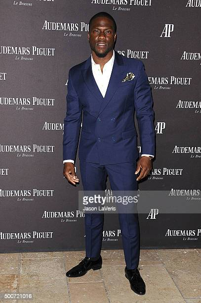 Actor Kevin Hart attends the opening of Audemars Piguet on December 9 2015 in Beverly Hills California