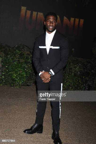 Actor Kevin Hart attends the premiere of Columbia Pictures' 'Jumanji Welcome To The Jungle' held at the TCL Chinese Theater on December 11 2017 in...