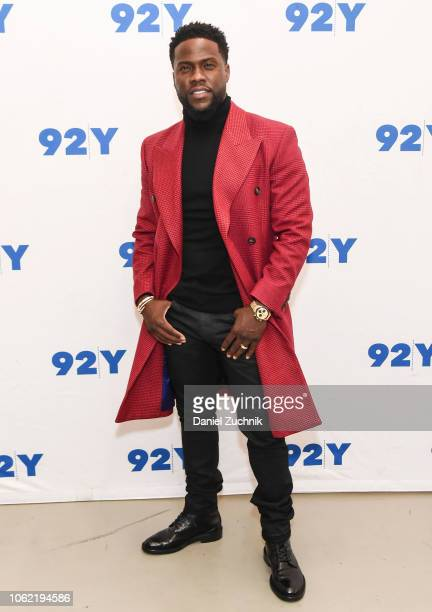 Actor Kevin Hart poses during The Upside Screening and Conversation with Kevin Hart at 92nd Street Y on November 15 2018 in New York City