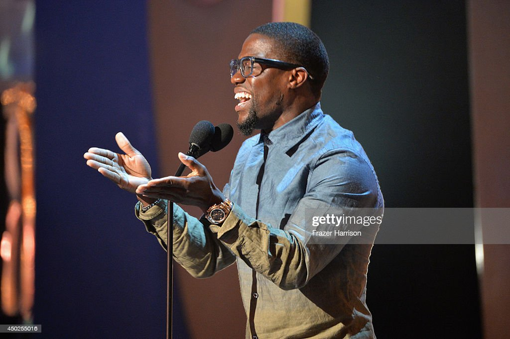 Actor Kevin Hart speaks onstage during Spike TV's 'Guys Choice 2014' at Sony Pictures Studios on June 7, 2014 in Culver City, California.