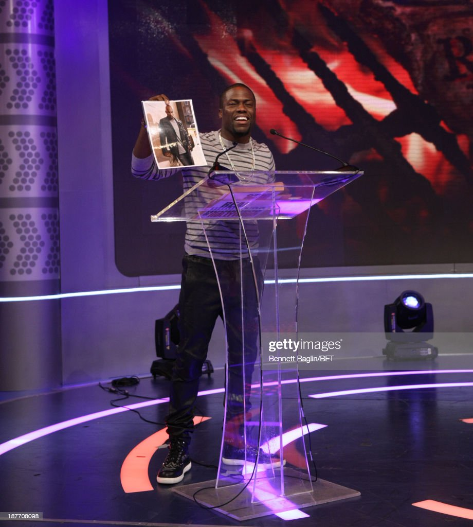 Actor Kevin Hart visits 106 & Park at 106 & Park studio on November 11, 2013 in New York City.