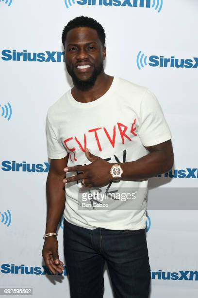 Actor Kevin Hart visits at SiriusXM Studios on June 5 2017 in New York City