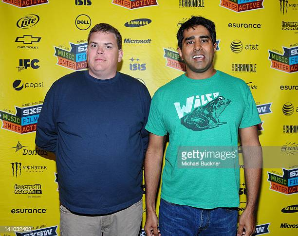 Actor Kevin Heffernam and director Jay Chandrasekhar attend the premiere for The Babymakers during the 2012 SXSW Music Film Interactive Festival at...