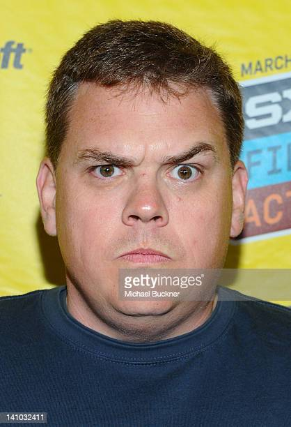 Actor Kevin Heffernan attends the premiere for The Babymakers during the 2012 SXSW Music Film Interactive Festival at the Paramount Theater on March...