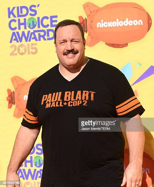 Actor Kevin James attends Nickelodeon's 28th Annual Kids' Choice Awards held at The Forum on March 28 2015 in Inglewood California