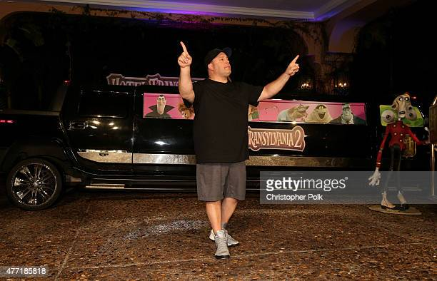 Actor Kevin James attends the 'Hotel Transylvania 2' photo call during Summer Of Sony Pictures Entertainment 2015 at The RitzCarlton Cancun on June...